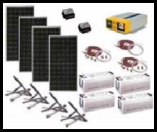 Комплектация солнечных батарей