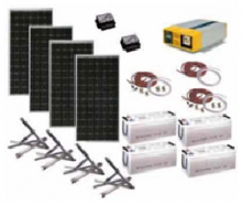 Комплектация солнечной электростанции
