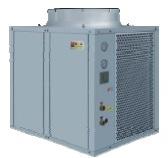 Воздушный тепловой насос моноблок до -25С EVI DE-46 20 кВт