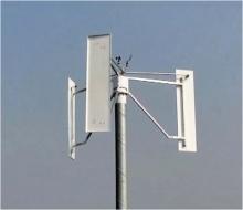 Ветрогенератор для слабых ветровых зон, мощность 5 кВт