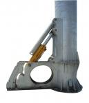 Цельная трубчатая мачта с гидравлическим подъемником 20000 Вт